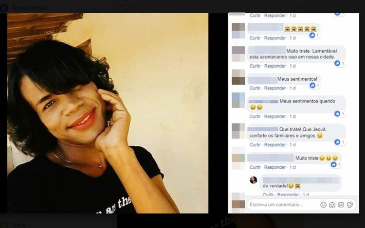 Edson Santos Vidal foi encontrada com sinais de golpes de um objeto cortante, que, segundo investigações, poderia ter sido uma faca. - Foto: Reprodução | Facebook