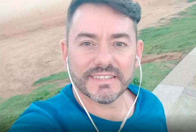 Márcio Perez ainda tentou escapar dos disparos, mas foi alvejado pelas costas e não resistiu - Foto: Facebook | Reprodução