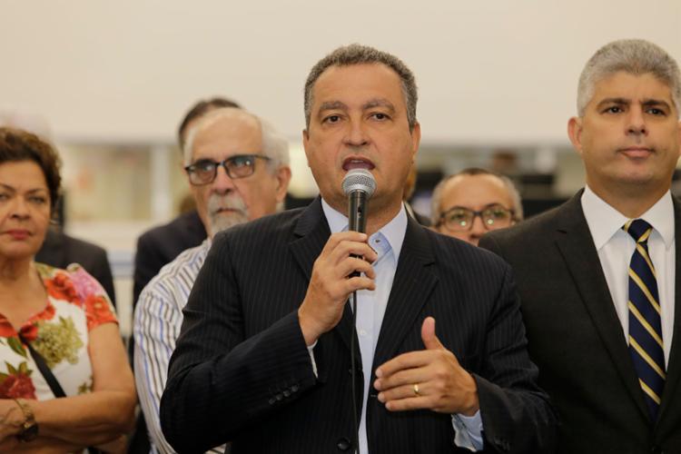 Governador tem como prioridade a educação - Foto: Gilberto Júnior | Ag. A TARDE