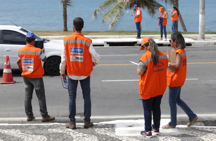 Vagas são para engenheiros civis e profissionais da área social - Foto: Adilton Venegeroles | Ag. A TARDE