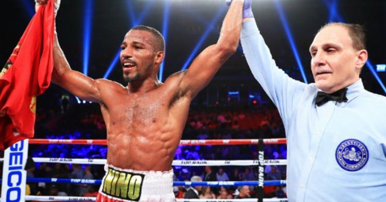Boxeador baiano superou o mexicano Hector Ambriz - Foto: Top Rank | Divulgação