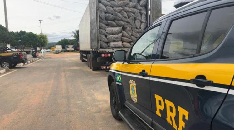 Motorista sabia que transporte era ilegal - Foto: Divulgação | PRF