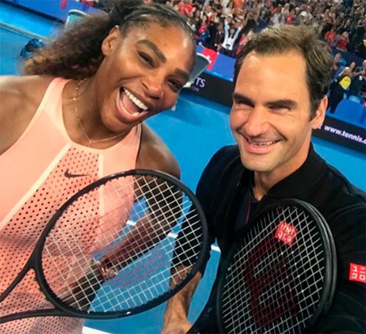 Torneio teve o confronto de dois grandes ícones da história do tênis - Foto: Reprodução | Instagram