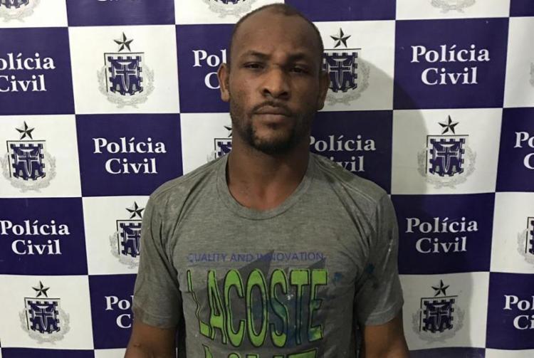 Gilmário Santos já possuía diversas passagens por roubos e furtos - Foto: Divulgação   Polícia Civil
