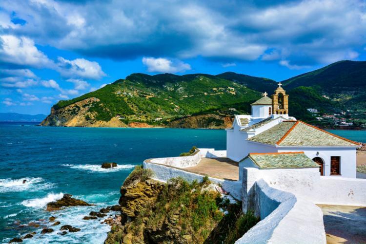 Ilha Skopelos, Grécia - Foto: Divulgação | Starclipper