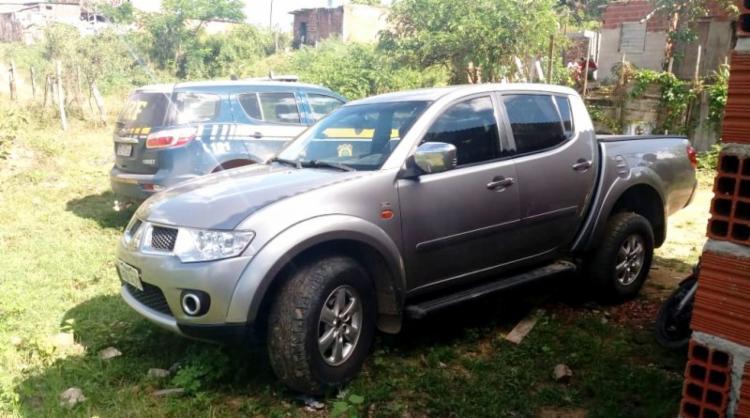 Picape foi roubado em novembro do ano passado, em Itapebi - Foto: Divulgação | PRF