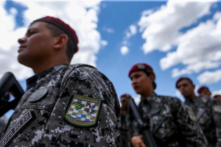 A Força Nacional atuará por 30 dias em ações de segurança - Foto: Marcelo Camargo | Agência Brasil