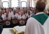 Bahia celebra 30 anos do título nacional em cerimônia na Colina Sagrada | Foto: Raul Spinassé l Ag. A TARDE
