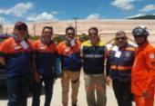 Bombeiros participam de simulado de catástrofe de barragem | Foto: Divulgação | CBMBA