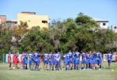Bahia enfrenta o Nacional-AM pela primeira fase da Copa do Brasil sub-20 | Foto: Felipe Oliveira | Esporte Clube Bahia