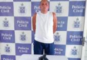 Homem é preso em Teixeira de Freitas suspeito de homicídio no Espírito Santo | Foto: Divulgação | SSP-BA