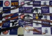 Quatro suspeito são presos com armas em Pé de Serra | Foto: Divulgação | SSP