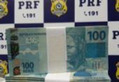 Homem é preso com mais de R$ 231 mil em notas falsas | Foto: Divulgação | PRF