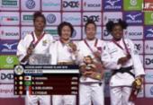 Rafaela Silva fatura medalha de prata no 1º dia do Grand Slam de Dusseldorf | Foto: Reprodução I JF TV
