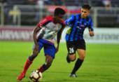 Bahia não sai do zero com Liverpool-URU e está fora da Sul-Americana | Foto: Dante Fernandez l AFP