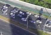 Acidente na LIP deixa trânsito lento na manhã desta segunda | Foto: Reprodução | Twitter