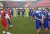Bahia inicia excursão contra o Rio Branco pela Copa do Brasil | Foto: Reprodução l Twitter l @ecbahia