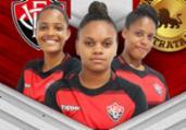 Futebol feminino do Vitória ganha três reforços | Divulgação | EC Vitória