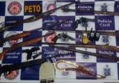 Quatro são presos com armas e munições em Pé de Serra | Divulgação | SSP-BA