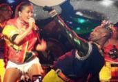 Olodum promove encontros de Carnaval em último ensaio | Thaís Seixas | Ag. A TARDE