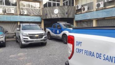 Corpo foram levados para o DPT de Feira de Santana - Foto: Aldo Matos | Acorda Cidade