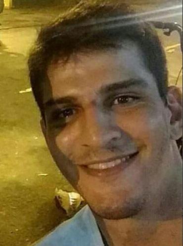 Vinicius Batista Serra é acusado de espancar Elaine Caparroz - Foto: Reprodução   Instagram