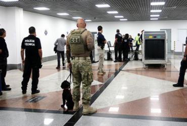 Operação realiza abordagens no Aeroporto Internacional de Salvador | Divulgação | SSP