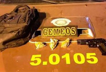 Policiais militares frustram roubo a ônibus na BR-324 | Divulgação | Polícia Militar