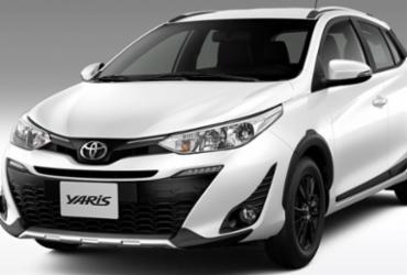 Toyota Yaris aventureiro está disponível a partir de R$ 78.990 | Reprodução
