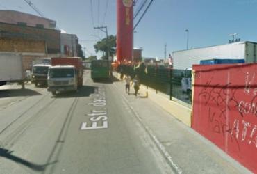 Três pessoas foram baleadas após ataque a carro-forte na Estrada das Barreiras | Reprodução | Google Maps