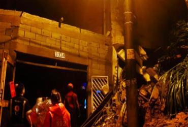 Em SP, quatro crianças morrem após desabamentos em Mauá | Divulgação | Corpo de Bombeiros SP