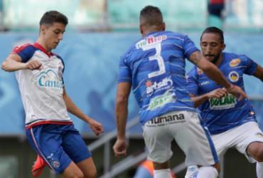 Bahia quebra jejum no Baianão e bate o Jacobina por 3 a 0 | Raul Spinassé | Ag. A TARDE