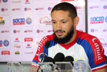 "Arthur Caíke é apresentado e avisa: ""Quero buscar meu lugar na equipe"" | Felipe Oliveira | Esporte Clube Bahia"