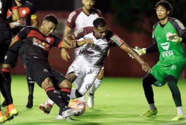 Vitória e Jacuipense empatam em 1 a 1 no Barradão  79941152d61b1