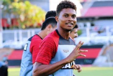 Nas redes sociais, Lucas Ribeiro se despede do Vitória e agradece | Maurícia da Matta | Esporte Clube Vitória