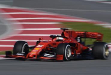 Vettel domina 1º dia de testes da pré-temporada da Fórmula 1 | Lluis Gene l AFP