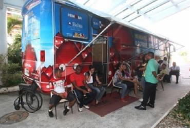 Hemoba realiza campanha com intuito de aumentar os estoques para o Carnaval | Divulgação | Eloi Corrêa | GOV-BA