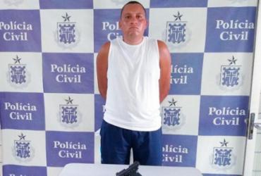 Homem é preso em Teixeira de Freitas suspeito de homicídio no Espírito Santo | Divulgação | SSP-BA
