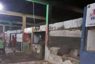 Incêndio destrói boxes do Mercado Municipal de Itabela | Divulgação | Giro de Notícias