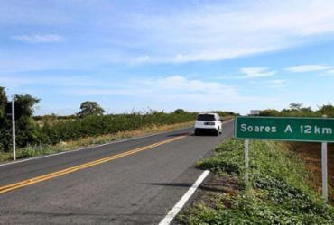 Trecho de estrada pavimentado em América Dourada é inaugurado