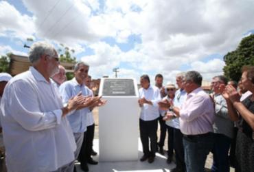 Trecho recuperado da BA-084 é entregue à população de Irará e Água Fria