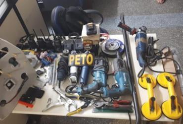 Dupla é presa após tentativa de assalto a banco em Lauro de Freitas | Divulgação | SSP-BA