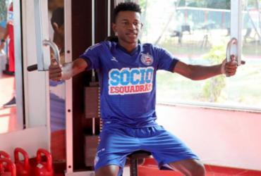 Ramires se reapresenta e retoma treinos no Fazendão | Felipe Oliveira | EC Bahia