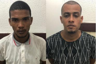 Dupla é presa após assaltos a ônibus em Salvador | Divulgação | SSP-BA