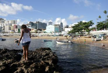 Festa de Iemanjá: fluxo é intenso de pedestres e veículos no Rio Vermelho | Uendel Galter / AG. A TARDE