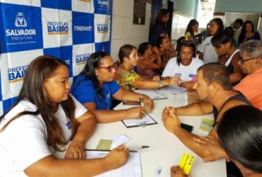 Prefeitura-bairro oferece serviços gratuitos em Ilha de Maré | Divulgação