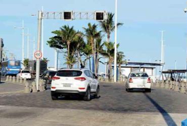 Lombada eletrônica é implementada na avenida Octávio Mangabeira | Jefferson Peixoto | Secom