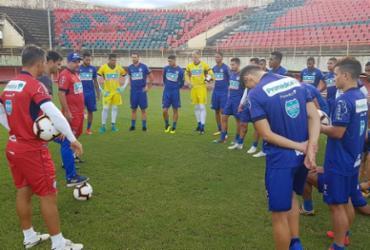 Bahia inicia excursão contra o Rio Branco pela Copa do Brasil | Reprodução l Twitter l @ecbahia