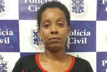 Vendedora de rifa é presa suspeita de distribuir drogas em Amargosa | Divulgação | SSP