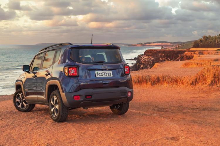 Em 2018, o Jeep Renegade, fabricado em Pernambuco, somou 46.344 unidades vendidas